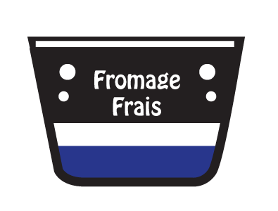 Fromage Frais 'in cheese section!'