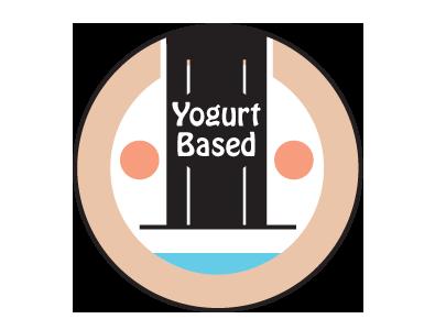 basierend auf Joghurt / Quark